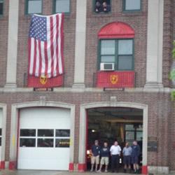 US fire crew