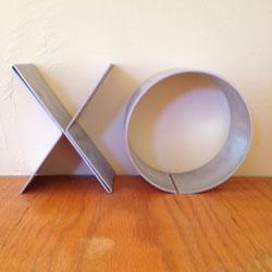 Folded X and O