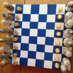 Salt and Pepper Chessboard