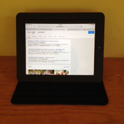 Flatscreen Tablet